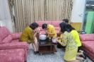 ขอพร อาจารย์ลัดดาวัลย์ ไวยสุระสิงห์ อดีตผู้อำนวยการวิทยาลัยพยาบาลบรมราชชนนี สุพรรณบุรี เนื่องในวันขึ้นปีใหม่ไทย