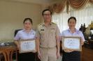 ร่วมแสดงความยินดีกับ Miss.Yang LinLin and Miss.Xu Ping ในโอกาสครบวาระการแลกเปลี่ยนเรียนรู้ในฐานะนักศึกษาแลกเปลี่ยนระหว่างวิทยาลัยพยาบาลบรมราชชนนี สุพรรณบุรี และ วิทยาลัยอาชีวศึกษาเล่อซาน_7