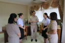 ร่วมแสดงความยินดีกับ Miss.Yang LinLin and Miss.Xu Ping ในโอกาสครบวาระการแลกเปลี่ยนเรียนรู้ในฐานะนักศึกษาแลกเปลี่ยนระหว่างวิทยาลัยพยาบาลบรมราชชนนี สุพรรณบุรี และ วิทยาลัยอาชีวศึกษาเล่อซาน_8